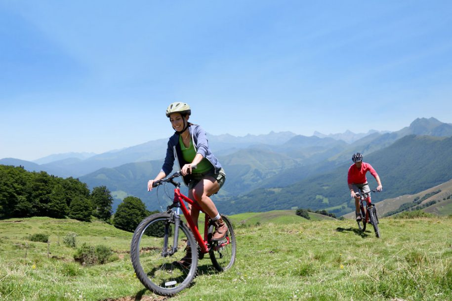mountain-biking routes in the Lake District