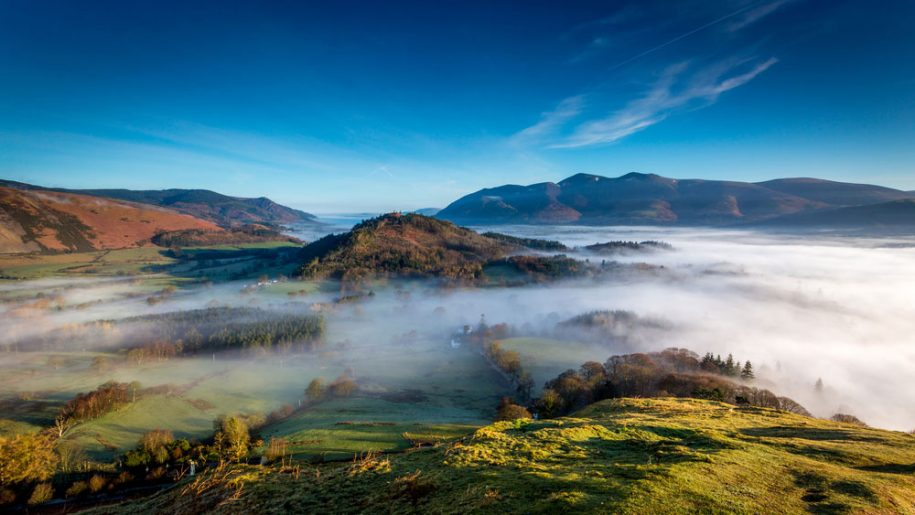 Mountains in the Lake District National Park