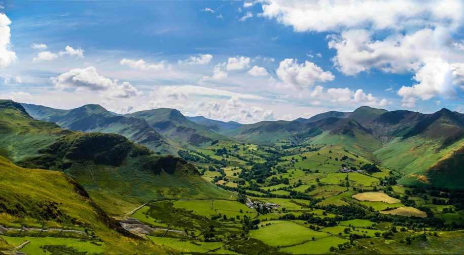 The natural beauty of the Lake District