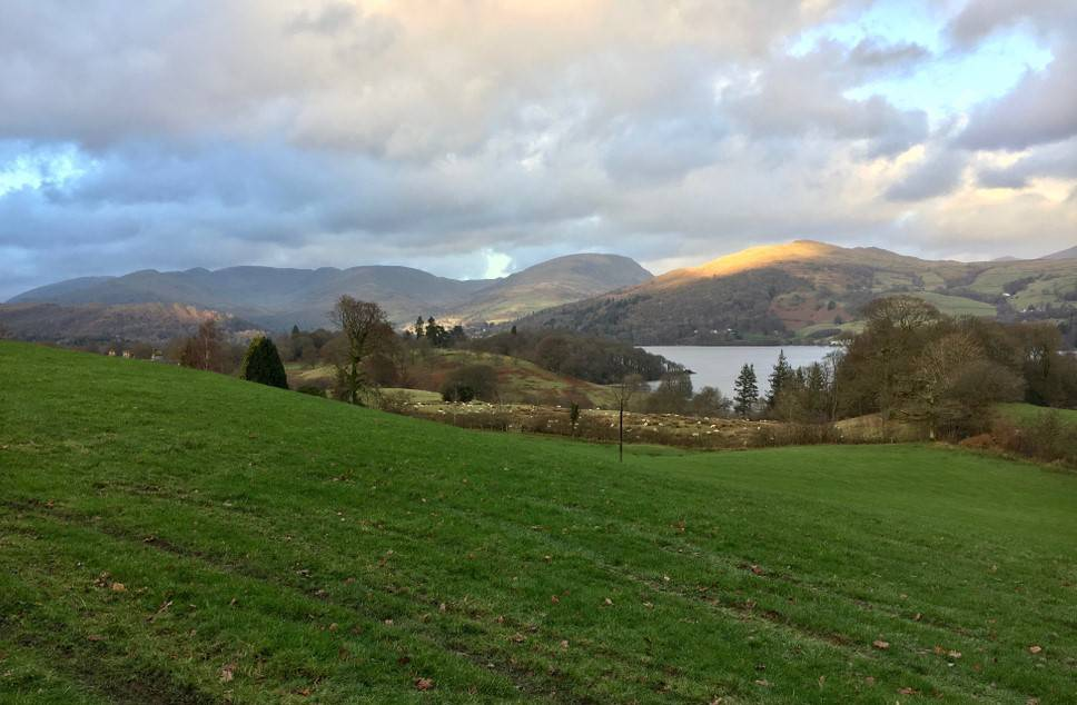 The Lake District in December, spa package break in windermere